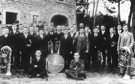 Gründung der Musikkapelle (1921-1947)
